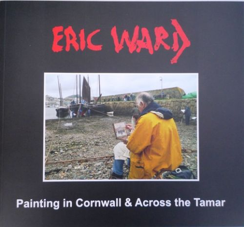 Signed Eric Ward Painting in Cornwall Book